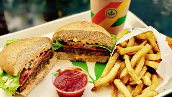 Plant Power Fast Food, Vegan Restaurant Chain Debuts in Long Beach