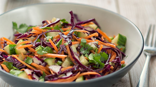 Vegan Recipe: Rainbow Salad