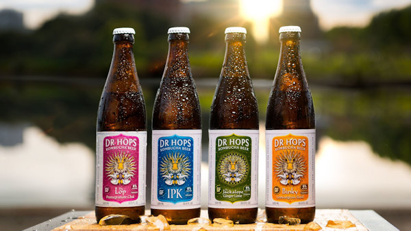 Dr Hops Kombucha Vegan Beer Expands Distribution
