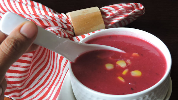 Vegan Recipe: Pink Soup