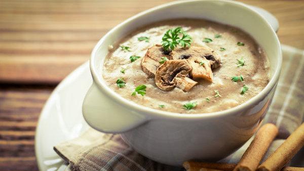 Vegan Recipe: Creamy Mushroom Bisque