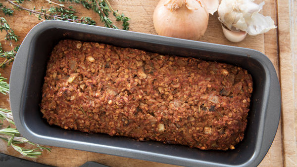Vegan Recipe: Sun-Dried Tomato Lentil Loaf