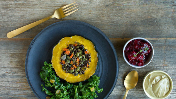 Vegan Recipe: Orange Spiced Cranberry Sauce