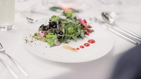 La Vimea Hotel salad