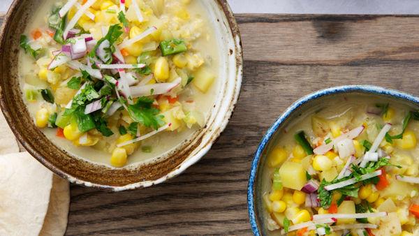 Vegan Corn Chowder recipe